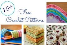 Free Knitting & Crocheting Patterns by Four Purls Yarn Shop / Who doesn't like free patterns?!