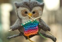Felted Projects by Four Purls Yarn Shop / Look what you can do by knitting or crocheting with wool and then getting it wet.