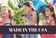 Made In The U.S.A. /  Treasure Box Kids is an ethically-made, high quality, and socially responsible children's clothing line made in the USA. TBK manufactures originally made girls dresses. Check out  our beautiful girl's outfits on our website.  http://www.treasureboxkids.com/Treasure-Box-Kids-USA-Kids-Clothing-Made-in-America.html