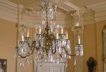 Antike Kronleuchter und mehr / Antike Kronleuchter,Lüster, Deckenlampen, Laternen, Wand- und Tischlampen, ausgesuchte Einzelstücke, restauriert und pefekt