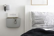 SLEEP: A curation of beautiful bedroom ideas. / Pared-back minimalist bedrooms perfect for small spaces.