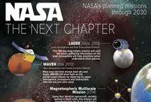 "NASA / Beautiful photos of NASA! ""Somewhere, something incredible is waiting to be known.""  Carl Sagan"