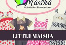 Little Maisha Kids Clothing / Little Clothes Changing Lives is Treasure Box Kids newest clothing line, designed to help prevent potential victims of human trafficking in Kenya. This line provides quality and ethically-made kids apparel for children. Visit our link below to learn more on how you can help. http://www.treasureboxkids.com/