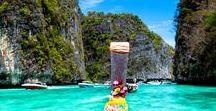 Travel Thailand ♡ / #thailand #bangkok #travel #asia #southeastasia #nature #landscape