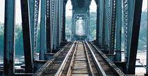 Train journeys ♡ / #train #travel #journey