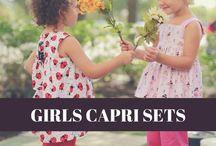 Girl's Capri Sets