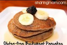 Breakfast:  Gluten-Free Casein-Free Egg-Free / Gluten-free Casein-free Egg-free breakfast ideas. If you'd like to pin to this board, leave a comment for me at http://sharingmom.com/who-is-sharing-mom-2/
