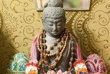 Buddha at Home / How to decorate homes with Buddha statues. / by Mohua Chakraborty
