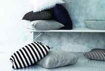Stoffideen - living with fabric / Dekorieren mit Stoff - decorating with fabric