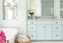 Bathroom Ideas / Bathrooms should be pretty too! These are some of my favs!