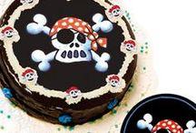 Piraten Kinderfeest - Pirates kids party / Stoer feest voor echte piraten die van spanning houden.. Schip Ahoy piraten!!