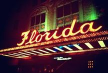 Florida / This board contains images of my home state of Florida.  I love my home state.  It is where I was born and raised.  I have some of the best memories of growing up there being nurtured by my Mom and my grandparents. / by Sharon Harden