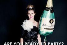 GlittySilly / Glitter jokes &. Champagne