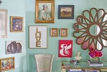 Gallery Wall Design / So much gallery wall inspiration!
