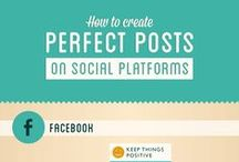 Social Media Infographics / When do I pin, post, tweet, and share? This board includes infographics that share information on the best ways and times to share posts on social media.