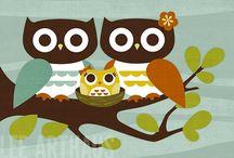 Owls / I love owls