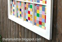 Decorating With Quilts / Ideas on hanging quilts, displaying quilts...