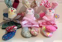 Bunnies & Spring-time Craft / Cute Bunnies, Chicks...