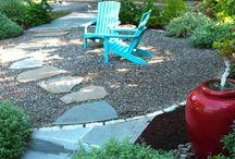 Great Outdoors / Pea gravel patios, gardens, outdoor rooms...