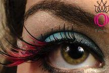 Eye Make-Up By Filipa O / Create you personal signature for a SOCIAL EVENT www.filipao.com