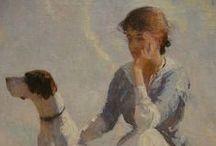 Grandes Mestres da Pintura. / Uma homenagem aos artistas abnegados, que ao longo da história deixaram como legado seus sonhos materializados em lindas telas.