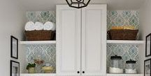 Small Space Organization / Creative ways to organize a small space. Efficient ways to design small spaces.