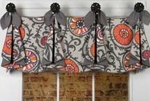 Tracy Valance / curtains, shades, valances, drapes, curtain rods, brackets, tiebacks, medallions, hardware, knobs, finial