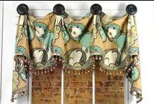 Marley Valance / curtains, shades, valances, drapes, curtain rods, brackets, tiebacks, medallions, hardware, knobs, finial, sewing patterns