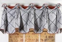 Kasey Valance / curtains, shades, valances, drapes, curtain rods, brackets, tiebacks, medallions, hardware, knobs, finial, sewing patterns
