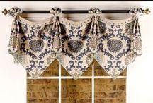 Emily Valance / curtains, shades, valances, drapes, curtain rods, brackets, tiebacks, medallions, hardware, knobs, finial, sewing patterns