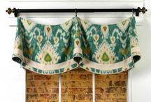 Claudine Valance / curtains, shades, valances, drapes, curtain rods, brackets, tiebacks, medallions, hardware, knobs, finial, sewing patterns