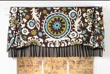 Madelyn Valance / curtains, shades, valances, drapes, curtain rods, brackets, tiebacks, medallions, hardware, knobs, finial, sewing patterns