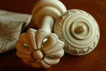 Hardware, Knobs, Finials, Medallions, Hold Backs / Curtain hardware that is ANYTHING but average !!!!  Why stop with fabulous window treatments.  Install them with hardware that's just as unique!