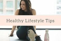 Healthy Lifestyle Tips / Healthy lifestyle tips for motivation, weight loss, and food choices for beginners and the more experienced!