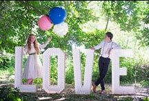Wedding Photo Opportunities / Look at these great ways to use #marqueeletters at your wedding