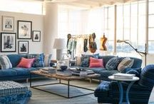 RL LIFESTYLE   Loft / Inspirations from the downtown cool and modern appointments that define metropolitan living  / by Ralph Lauren Home