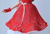 Barbie dress knit