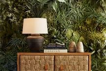 Explorer / Exotic travels and adventures inspire home decor rich with global influence and worldly appeal.