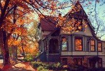 House Exterior Stuffs / Architecture, home styles, outdoor spaces, paths, porches, doors, gates, fences