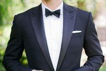 Groom's Tuxedo / Peak Lapel / by My Happily Ever After
