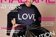 MADAME Cover / Die MADAME Titelseiten im Überblick: Monat für Monat zeigen wir Ihnen hier die Cover der neuen Madame plus der Line Extensions, von Accessoires über Beauty bis Travel und Living.