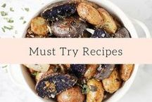 Must Try Recipes / Healthy Recipes we must try!