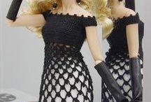 Barbie dress-crochet