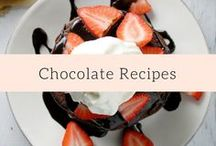 Chocolate Recipes / Easy, healthy chocolate recipes for clean eating desserts.