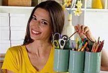 Vida Organizada / Dicas de organização para diversos objetos e espaços da casa.