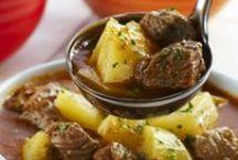 Carnes, Frangos e Batatas