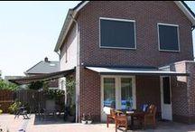 Terrasschermen / Terrasschermen: ze vormen een verlengstuk van de woning! www.suncircle.nl
