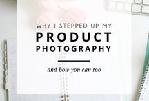 Product  photography Ideas & tips / Great product photos and tips on how to set up for great product photos