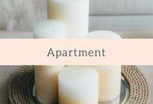 Apartment / City chic apartment inspiration.