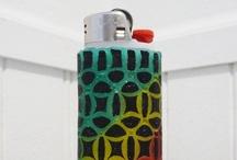 Lighter Cases by Sam Goraj / Originated and created by Sam Goraj.   Available at Sam's Etsy shop: www.etsy.com/shop/lightercases